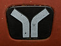 Yugo badge on a red Yugo GVL.jpg