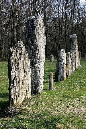 Yverdon-les-Bains - The stone rows in Yverdon-les-Bains (3000 B.C.E.)