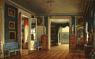 Royal Bedroom of the Palace on the Water.