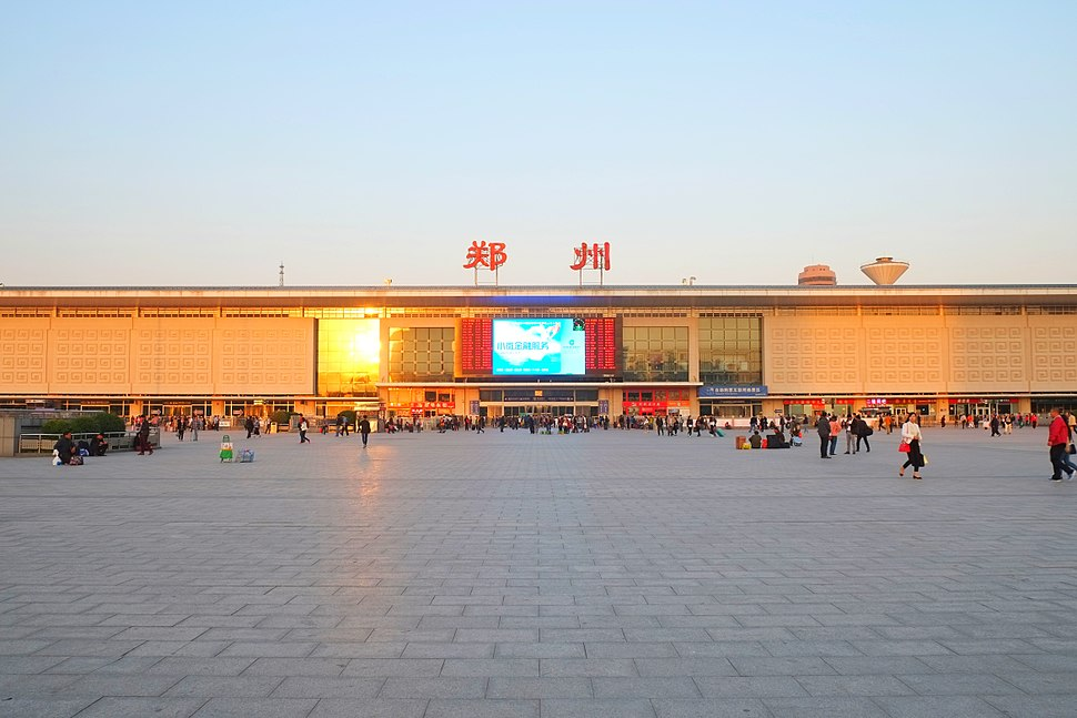 Zhengzhou station west side