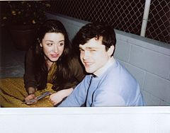 "Zoë Worth & Alden Ehrenreich on the set of ""Running Wild"".jpg"