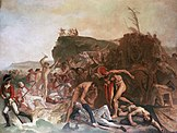 The Death of Captain James Cook by Johan Zoffany