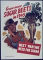 """Grow More Sugar Beets in 1945. Meet Wartime need for Sugar"" - NARA - 514424.tif"
