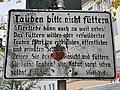 """""""Tauben bitte nicht füttern""""-Schild 20191017.jpg"""
