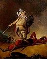 'Henry IV', Part I, Act V, Scene 4, Falstaff and the Dead Body of Hotspur Robert Smirke (1753–1845) Royal Shakespeare Theatre.jpg