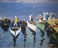 'Holiday on the Hudson' by George Luks, c. 1912.JPG