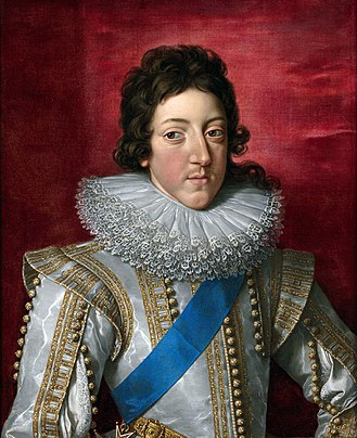 Frans Pourbus the Younger - Image: 'Louis XIII, King of France, with the Sash and Badge of the Order of Saint Esprit' by Frans Pourbus the Younger