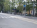 'Strandfűrdő' Straßenbahnhaltestelle, NO, 2021 Hódmezővásárhely.jpg