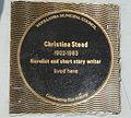 (1)Christina Stead house plaque Watsons Bay.jpg