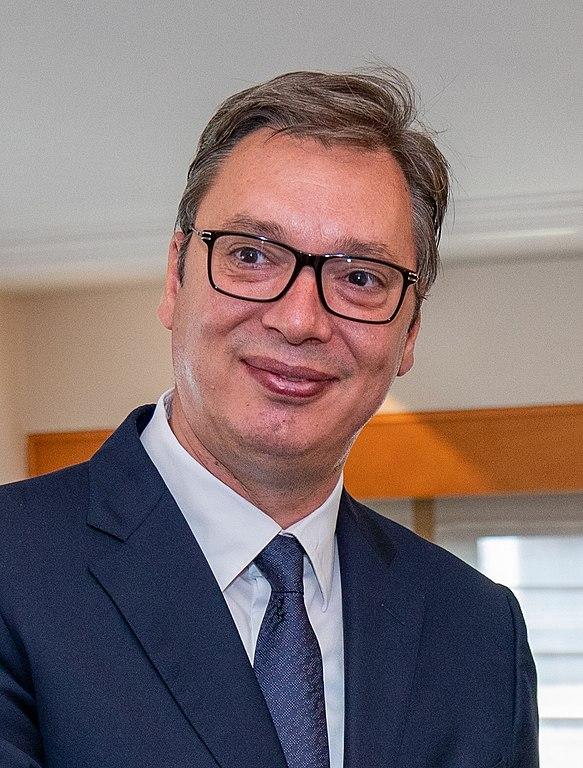 File:(Aleksandar Vučić) Secretary Pompeo Hosts a Working Lunch With Serbian  President Vucic (48586279546) (cropped).jpg - Wikimedia Commons