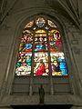 Église de Chaumont en Vexin vitrail sacristie.JPG
