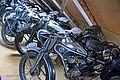 ČZ motorcycles in the Pořežany museum 02.jpg