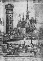 České Budějovice, rytina Jan Willenberg, výřez (chrám).png