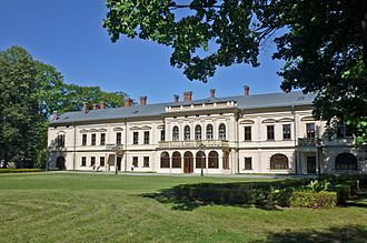 Alice Habsburg - The Habsburg palace in Żywiec, Poland, where Alice Habsburg lived between the wars and during a large part of World War II