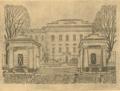 Архитектурне обличчя Полтави. 1919. № 15. В'їзд до Інституту Шляхетних Панн.png