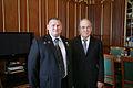 Встреча Президента Татарстана Минтимера Шаймиева с Героем России Ильясом Дауди, февраль 2010 г 1.jpg