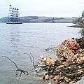 Гипс на берегу Камского водохранилища - panoramio.jpg
