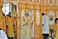 Епископ Калачевский и Палласовский Иоанн совершает богослужение в храме апостолов Петра и Павла в станице Нижний Чир.jpg