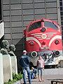 Музей на транспорта в Будапеща - влак.JPG