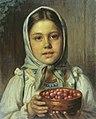 Н. Е. Рачков. Девочка с ягодами.jpg