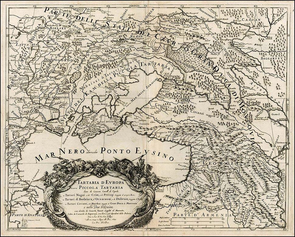 Південно-Східна Європа 1684