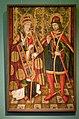 Святой Фабиан и святой Себастьян (XV век Испания).jpg