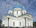 Собор Троицкий (Измайловский). Вид с Троицкого проспекта.jpg