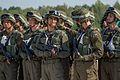 Тренування Нацгвадійців до параду військ з нагоди 25-ї річниці незалежності України IMG 0561 (28423239223).jpg
