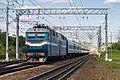 ЧС7-019, поезд Москва - Брест, станция Кубинка-1.jpg