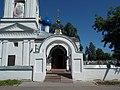 Яковлевско-Благовещенский храм, Ярославль. Арка в ограде.jpg