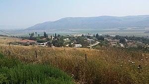 Ein Harod (Ihud) - Image: מבט כללי על עין חרוד איחוד לכיוון דרום 01