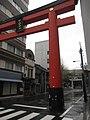 下谷神社鳥居 Gateway to Shitaya shrine - panoramio.jpg