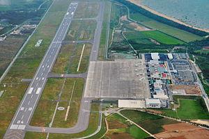 New Ishigaki Airport - Aerial view of New Ishigaki Airport