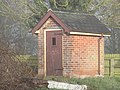 -2021-02-28 A punp house¬ next to the former Felmingham Station Building, Weavers Way, Felmingham.JPG