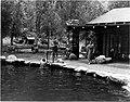 01533 Grand Canyon Historic- Nevills Party at Phantom Ranch c. 1948 (4761471407).jpg