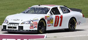 Mike Wallace (racing driver) - Wallace's Nationwide car in 2010
