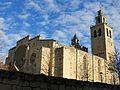 023 Monestir de Sant Cugat del Vallès, angle sud-oest.JPG