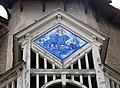 034 Can Blanch, mosaic de rajola (Camprodon).JPG