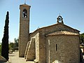 037 Ermita de Sant Eloi, absis i campanar.jpg
