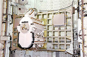 STS-105 - ICC STS-105 with EAS and MISSE