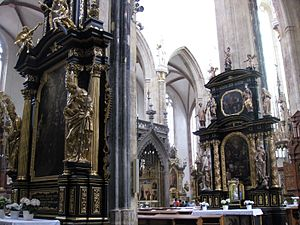 Church of Our Lady before Týn - Interior of the church