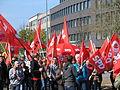 1. Mai 2013 in Hannover. Gute Arbeit. Sichere Rente. Soziales Europa. Umzug vom Freizeitheim Linden zum Klagesmarkt. Menschen und Aktivitäten (170).jpg