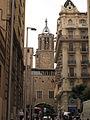 106 Carrer del Pare Gallifa, al fons campanar de la Catedral.jpg