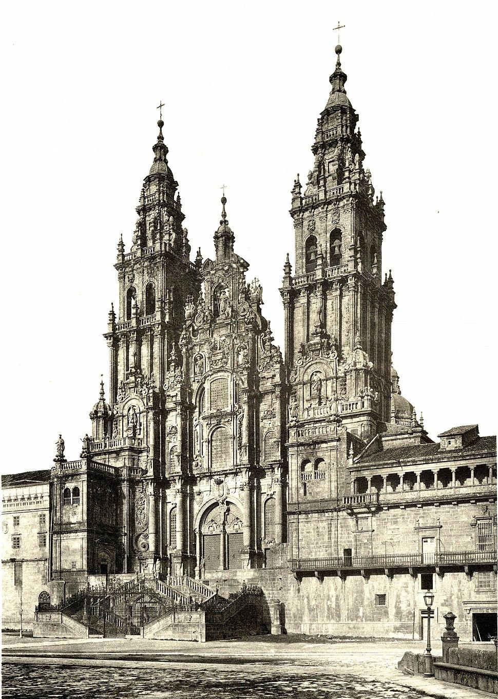 110 Santiago (da Compostela) Westfassade der Kathedrale