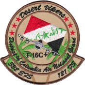 121st Expeditionary Fighter Squadron - Operation Iraqi Freedom patch