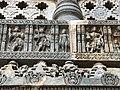 12th-century Jain Tirthankara at Shaivism Hindu temple Hoysaleswara arts Halebidu Karnataka India.jpg