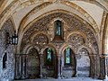 13th century arches in Winchester cathedral deanery. 01.jpg