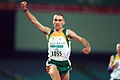 141100 - Athletics track Tim Sullivan celebrates - 3b - 2000 Sydney race photo.jpg