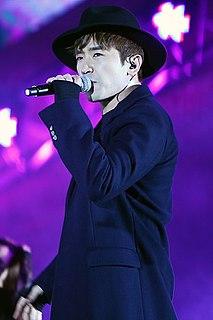 Lee Min-woo South Korean singer