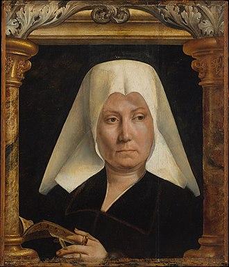 1520 in art - Image: 1520 Portrait of a woman (Q. Massys)